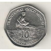 Гайана 10 доллар 2011