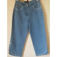 Капри джинсы голубые Турция