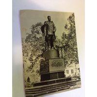 Открытка Герой Советского Союза Вильнюс снесенный памятник
