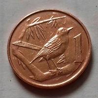 1 цент, Каймановы острова 2005 г.