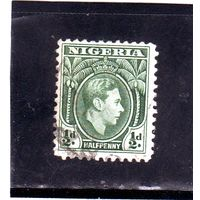 Нигерия. Ми-46. Король Георг VI. 1950.