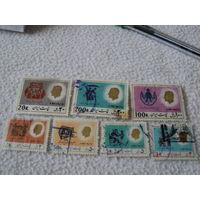 Почтовые марки Иран 7