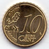 Кипр, 10 евроцентов 2008 года.