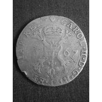 Талер патагон 1667