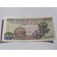 Гана. 1000 седи 2003 год UNC