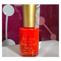 Стойкий укрепляющий ЛАК для ногтей Constance Carroll Diamond Gloss Nail Polish оттенок 353 Neon Orange