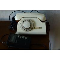 Телефон дисковый с определителем