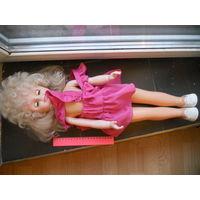 Кукла СССР 60 см глазки закрываются состояние отличное