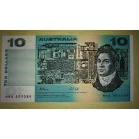 AВСТРАЛИЯ 10 $ 1985...-г.  ФРЕЙЗЕР  УНС номер809289