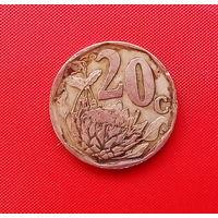 59-29 ЮАР, 20 центов 1996 г.