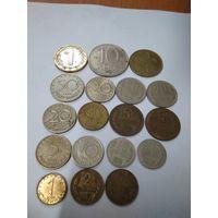 Монеты Болгарии.