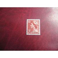 Марки королева Елизавета II 1953 год Австралия
