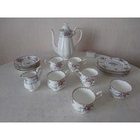 Сервиз чайный / кофейный костяной фарфор 5 персон 18 предметов Royal Albert Англия.