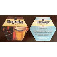 Подставка под пиво Hoegaarden No 16  /Украина/