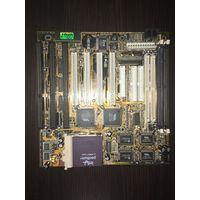 Комплект Pentium 166ммх+мать LS 5V-1A socket 7