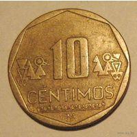 Перу 10 сентимос (сентимо, центимо) 2004