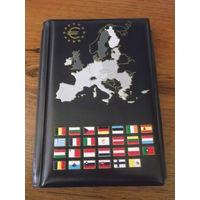Альбом для монет под евро наборы