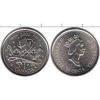 Канада 25 центов 2000 Гордость UNC