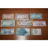 Сборный лот банкнот (Туркменистан, Афганистан, Казахстан, Пакистан)