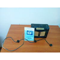 Радиоприёмник Новь СССР с родными шнурами и с документами.