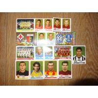 Футбольные наклеки.Calciatori 2003-2004