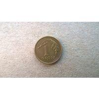 Польша 1 грош, 2001г. (sb-1)