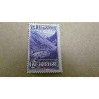 Андорра  1938 г  Новые цвета