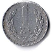 Польша. 1 злотый. 1978 г.