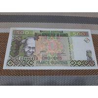 Гвинея 500 франков 1998