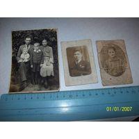 3 фотографии 1928-1929 гг