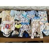 Одежда на мальчика от 0 до 2-3 месяцев
