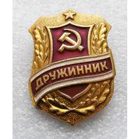 Знак Дружинник СССР #0203-OP5