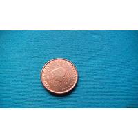 Нидерланды 1 евро цент 2001г.   распродажа