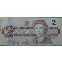 Канада, 2 доллара 1986-91 год #P94b