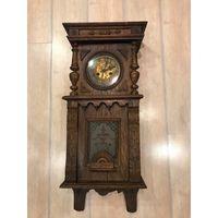 Часы Европа дубовый корпус