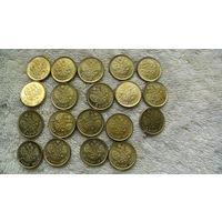 Монета 5 руб Николай II 1909г. золотой из коллекции. (20 мм) распродажа