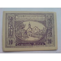 Австрия 10 геллер 1920г.  Клейнерт   распродажа