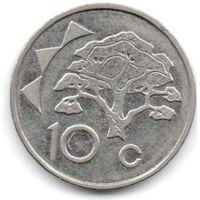 РЕСПУБЛИКА НАМИБИЯ 10 ЦЕНТОВ 2002. ДЕРЕВО