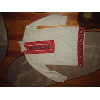 Старинная мужская рубаха 44 р-р