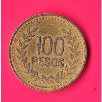 19-24 Колумбия, 100 песо 1995 г.