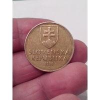 10 крон 1993 год. Словакия.