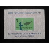 Кипр 1979 первый блок турецкого Кипра