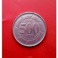 94-08 Ливан, 500 ливров 1996 г.