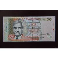 Маврикий 100 рупий 2013 UNC