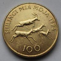 Танзания, 100 шиллингов 1994 г