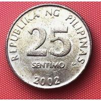 13-07 Филиппины, 25 сентимо 2002 г.