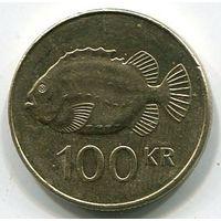 ИСЛАНДИЯ - 100 КРОН 2011
