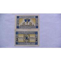 Германия Нотгельд 50 пфенинг 1921г No56398 распродажа