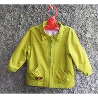 Куртка ветровка на рост 86-92 см