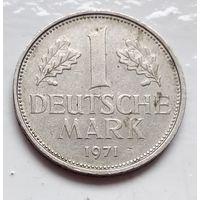 "Германия 1 марка, 1971 ""F"" - Штутгарт 1-2-20"